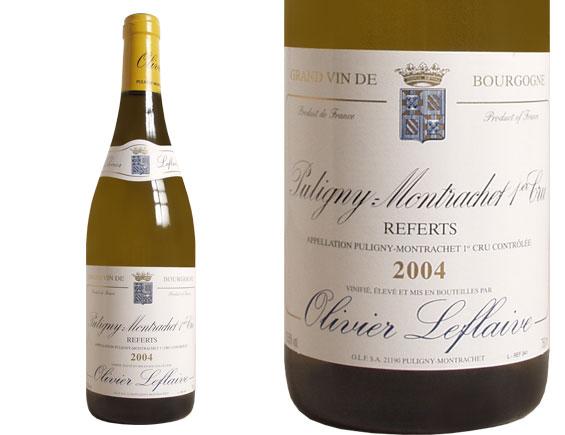 PULIGNY-MONTRACHET 1er CRU ''LES REFERTS'' 2004 blanc