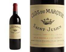 CLOS DU MARQUIS rouge 2004,  Second vin du Château Léoville Las Cases