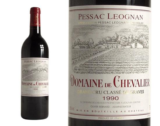 DOMAINE DE CHEVALIER rouge 1990, Cru Classé de Graves