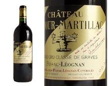 CHÂTEAU LATOUR MARTILLAC rouge 1997, Cru Classé de Graves