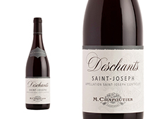 CHAPOUTIER SAINT-JOSEPH DESCHANTS ROUGE 2017