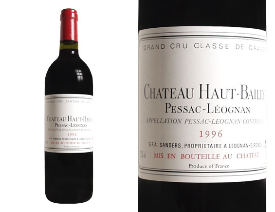CHÂTEAU HAUT-BAILLY red 1996, Classified Growth of Graves