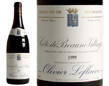 CÔTE DE BEAUNE VILLAGES rouge 1999