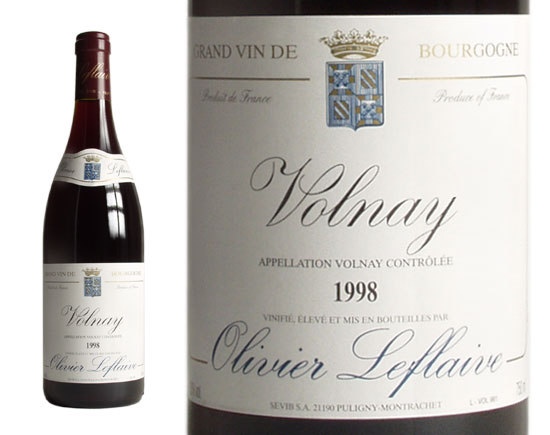 OLIVIER LEFLAIVE VOLNAY rouge 1998
