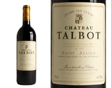 CHÂTEAU TALBOT 1996 rouge