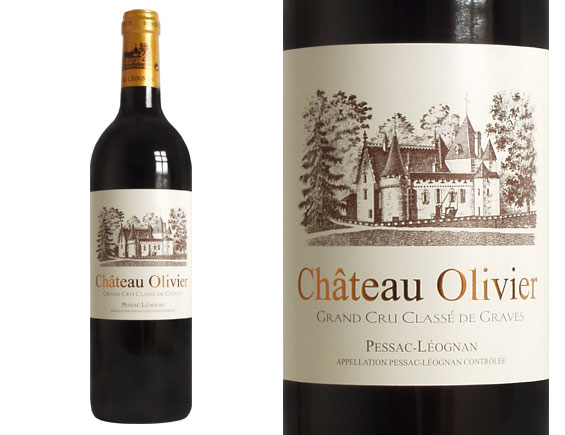 photo vin bordeaux chateau olivier