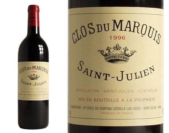 CLOS DU MARQUIS rouge 1996, Second vin du Château Léoville Las Cases