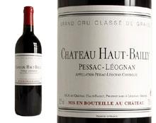 CHÂTEAU HAUT-BAILLY rouge 1999, Cru Classé de Graves