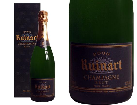 champagne ruinart millesime 2000