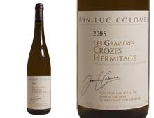 JEAN-LUC COLOMBO Crozes Hermitage Les Gravières Blanc 2005
