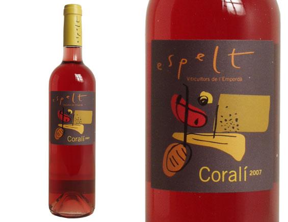 ESPELT CORALI Rosé 2007