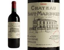 CHÂTEAU HAUT-MARBUZET rouge 1998, Cru Bourgeois