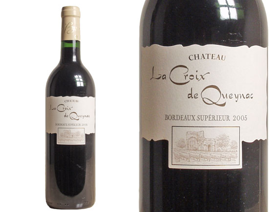 ch teau la croix de queynac 2005 rouge bordeaux sup rieur vin de bordeaux. Black Bedroom Furniture Sets. Home Design Ideas