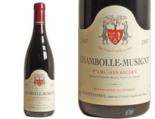 DOMAINE GEANTET-PANSIOT CHAMBOLLE-MUSIGNY 1ER CRU LES BAUDES 2007