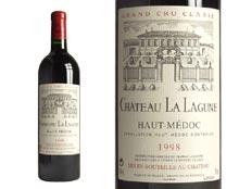CHÂTEAU LA LAGUNE rouge 1998, Troisième Cru Classé en 1855