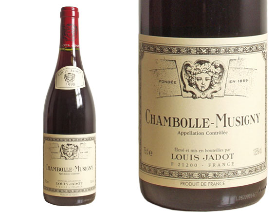photo Louis Jadot Chambolle-Musigny