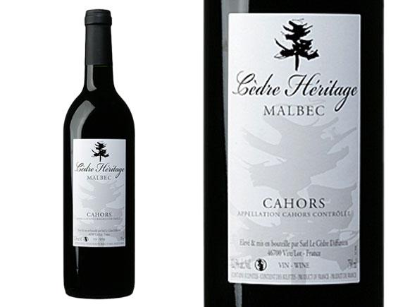 Cahors le cedre heritage rouge 2008 rouge cahors vin de - Le cedre rouge catalogue ...
